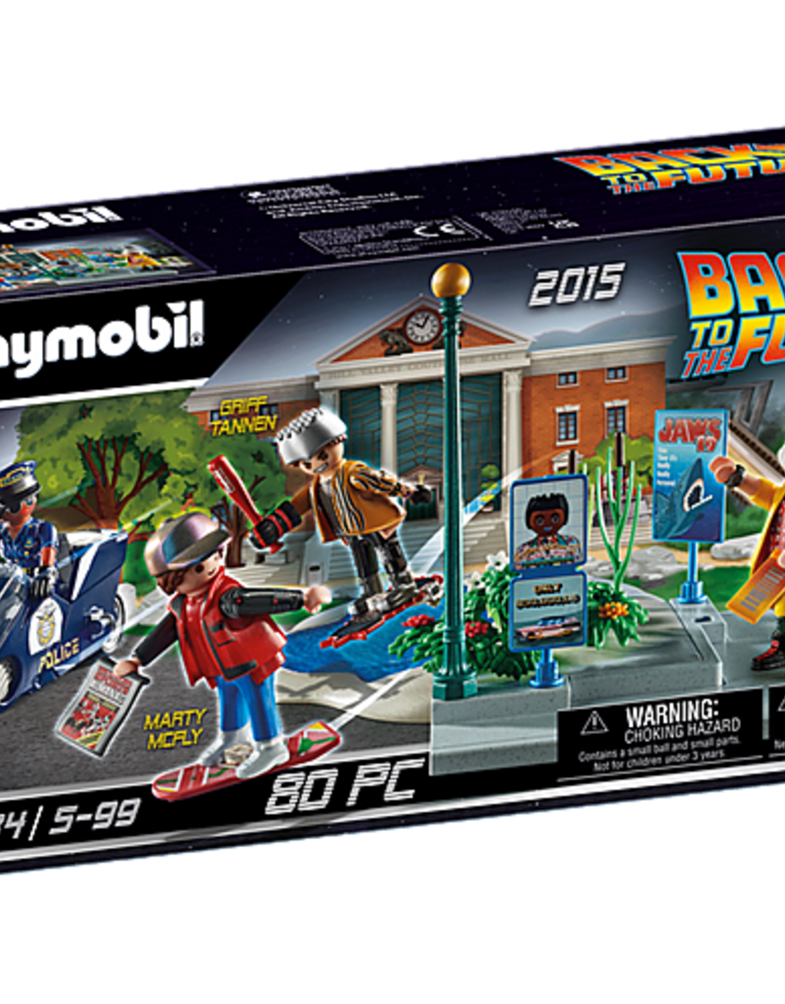 Playmobil PM Back to the Future Hoverboard Chase