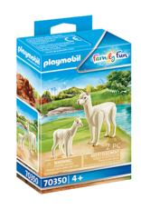 Playmobil PM Alpaca with Baby