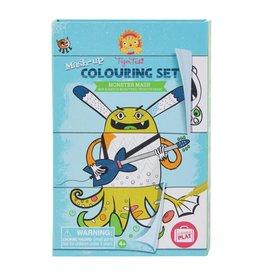 Schylling Coloring Set Monster Mash Up