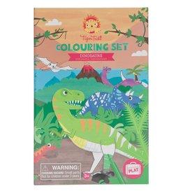 Schylling Coloring Set Dinosaur
