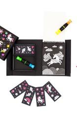 Schylling Coloring Set Neon Unicorn & Friends