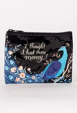 Blue Q Coin Purse Thought I Had More Money