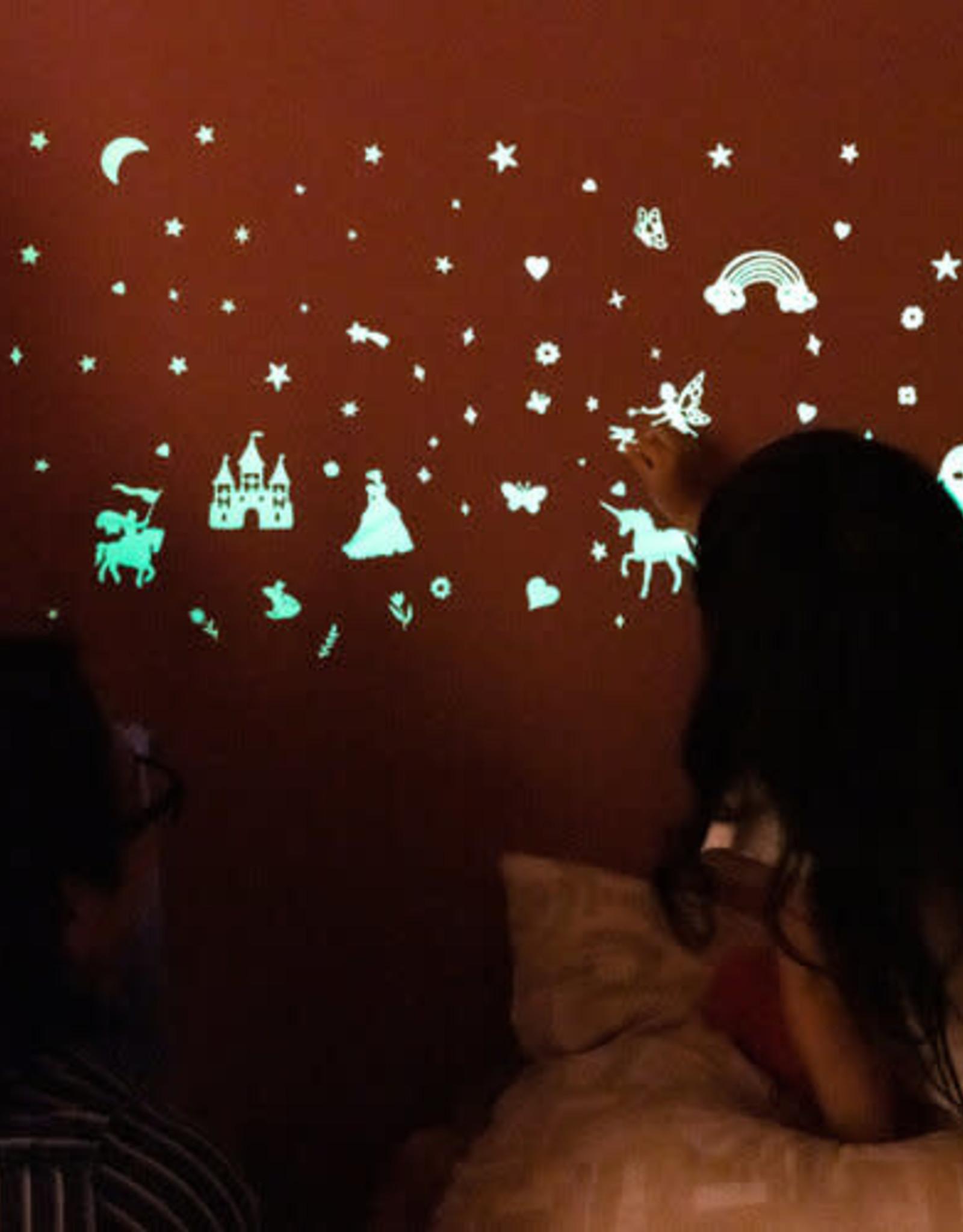 GloPlay Decals Glow in the Dark Fairy Tale