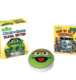 Hachette Mini Kit Oscar Grouch Talking Button