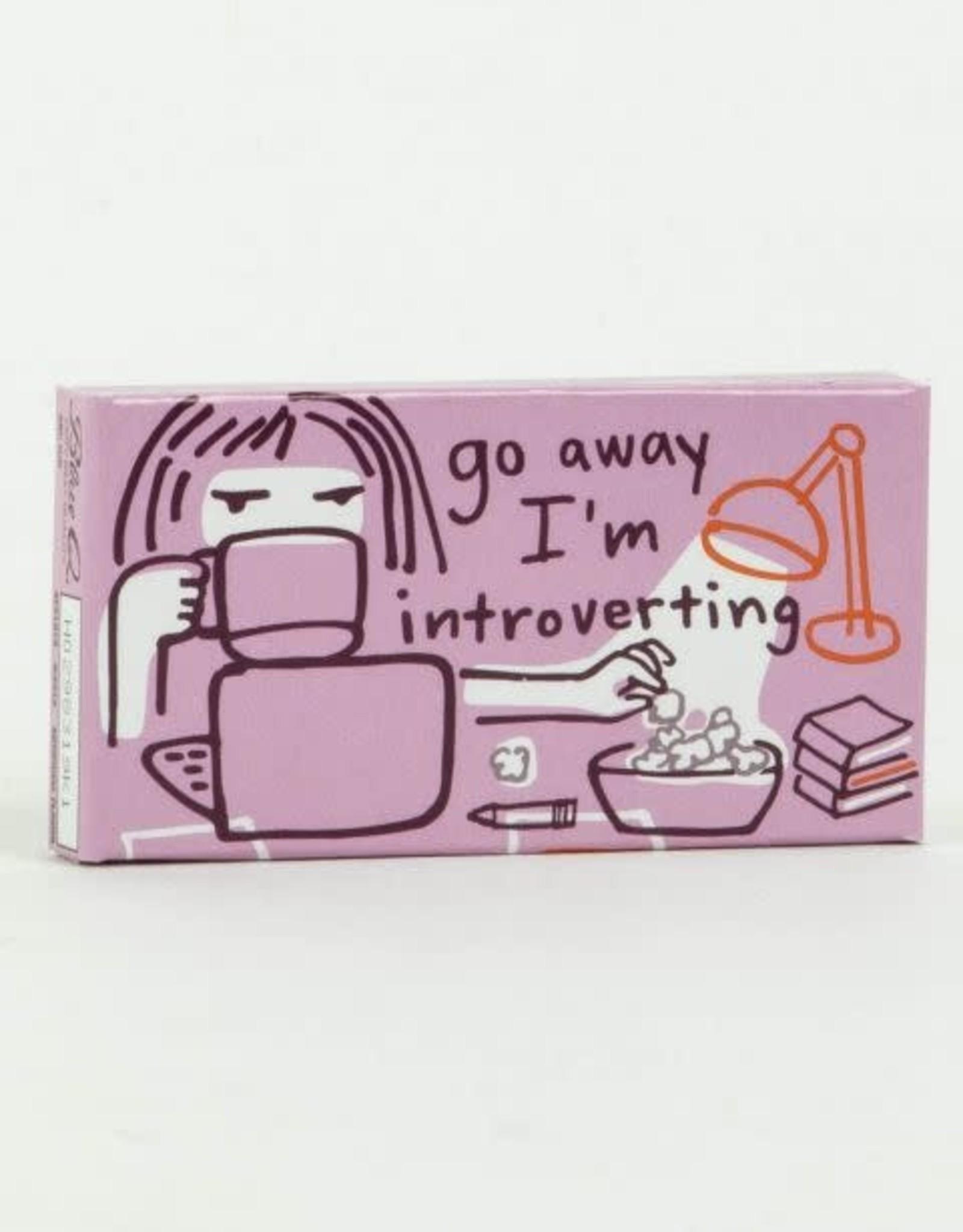 Blue Q Gum Go Away I'm Introverting
