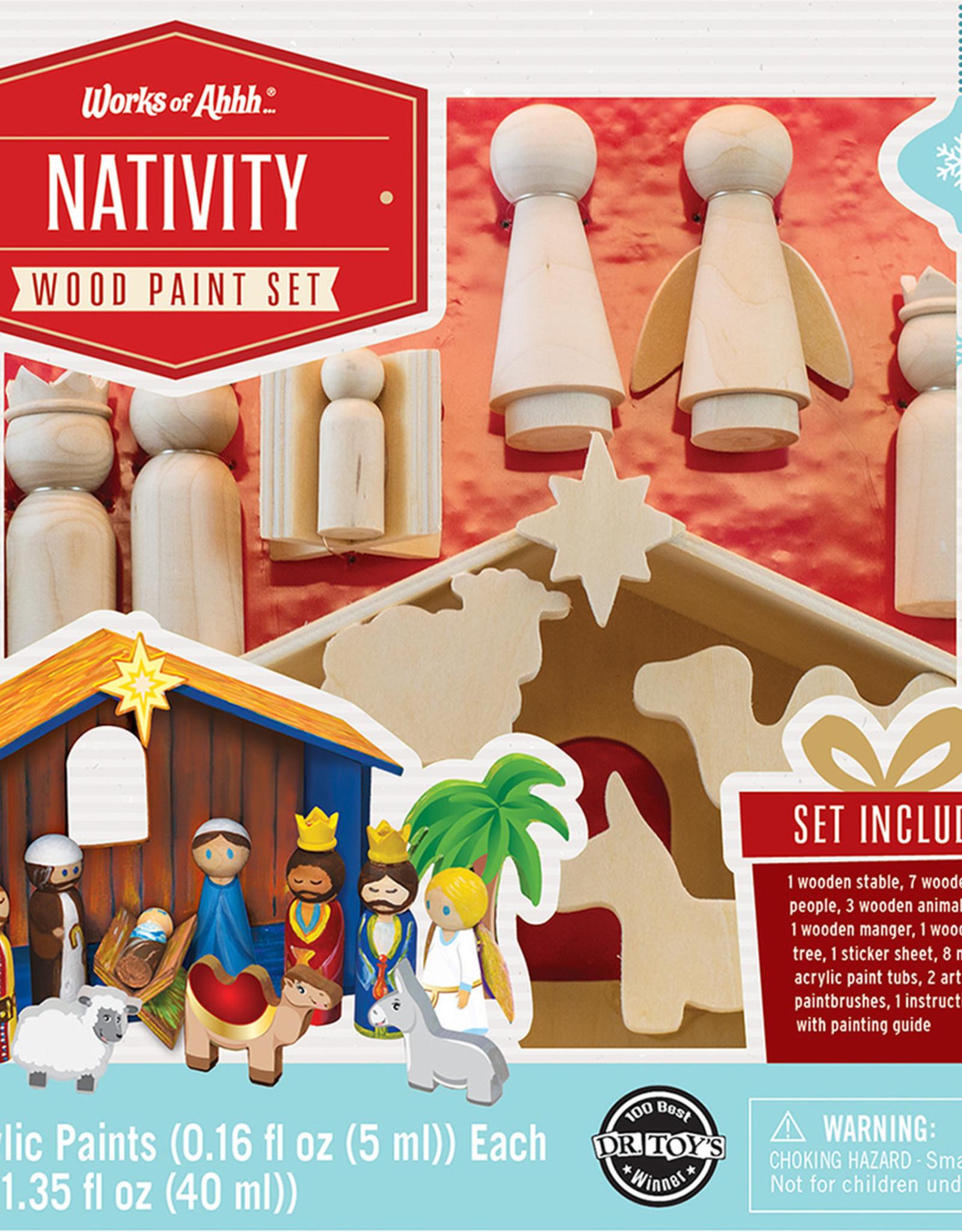 Works of Ahhh Paint Kit Nativity