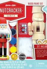 Works of Ahhh Paint Kit Nutcracker Santa