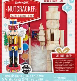 Works of Ahhh Paint Kit Nutcracker Father Christmas