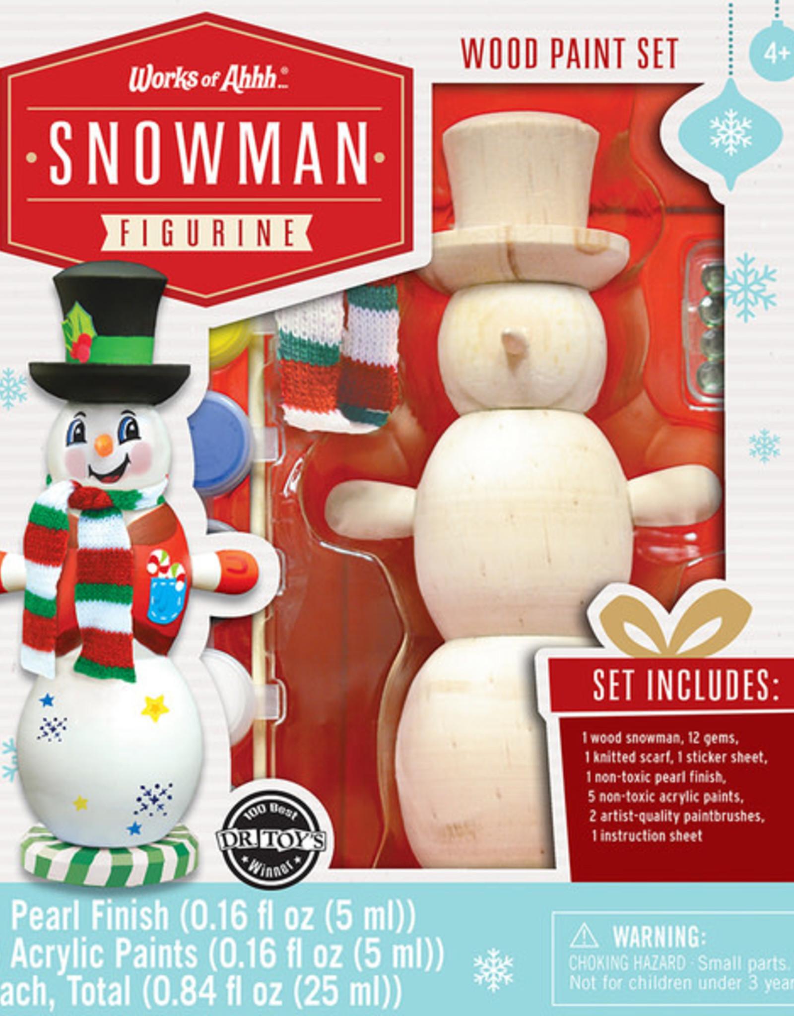Works of Ahhh Paint Kit Snowman