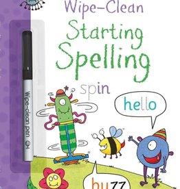Usborne Wipe-Clean Starting Spelling 4+
