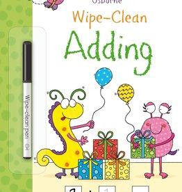 Usborne Wipe-Clean Adding 4+