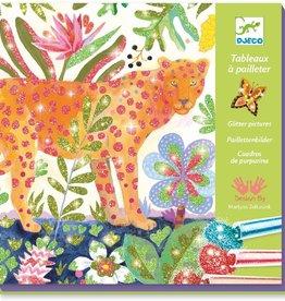Djeco Craft Kit Glitter Tropico