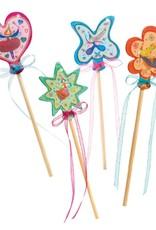 Djeco Craft Kit Little Fairies DIY Wands