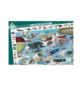 Djeco Puzzle + Poster Aero Club 200pc Jigsaw