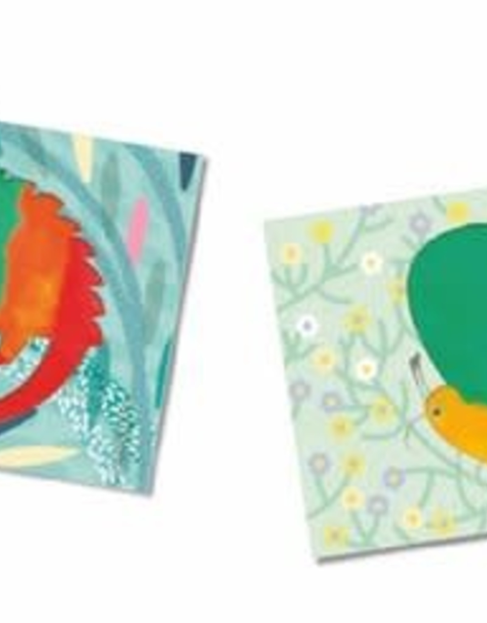 Djeco Craft Kit Finger Painting Mess-Free 18m+
