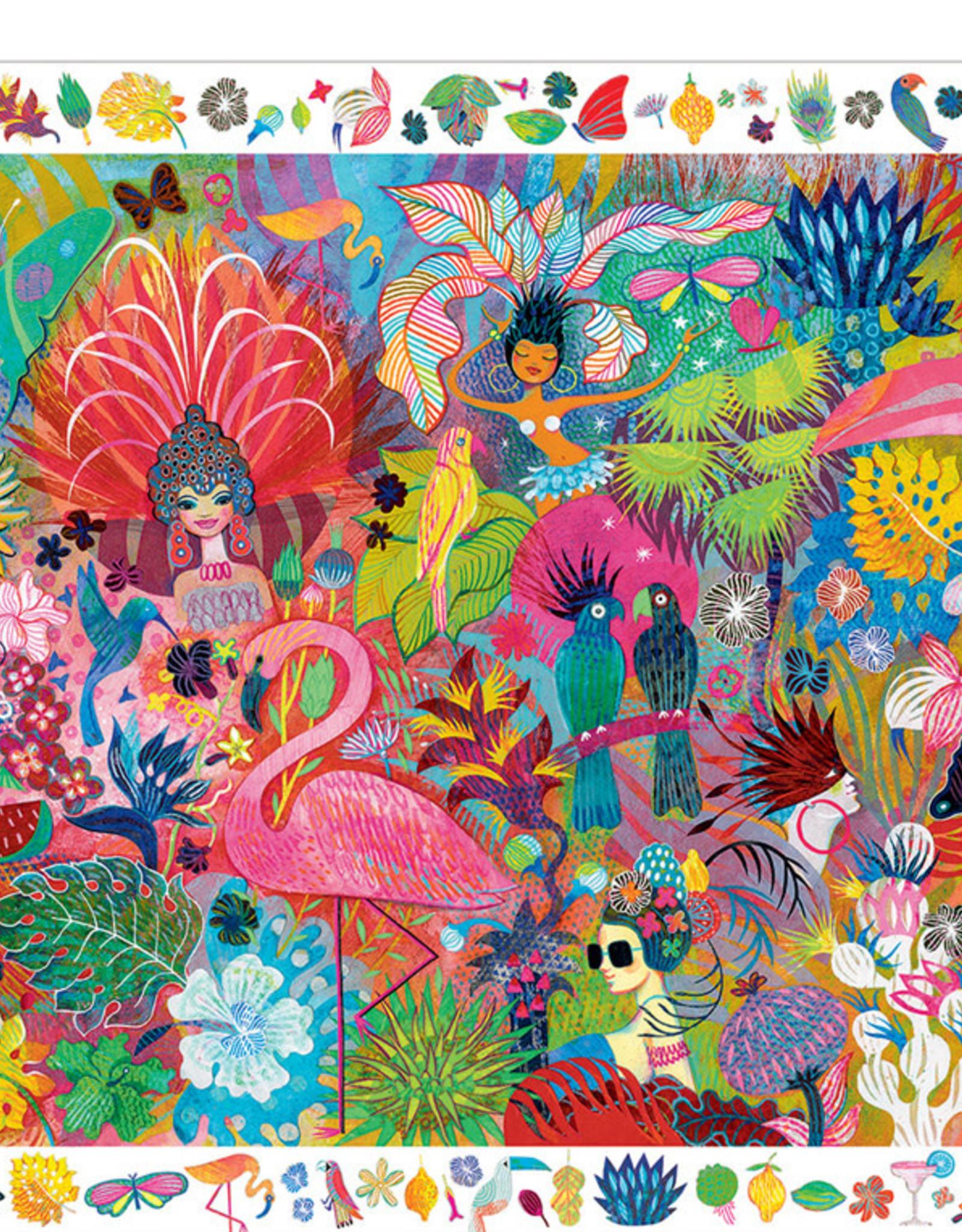 Djeco Puzzle + Poster Rio Carnival 200pc Jigsaw