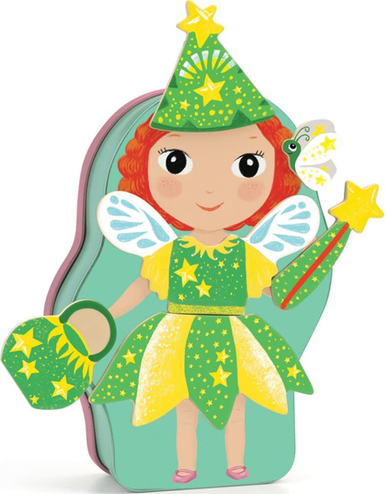 Djeco Magnetic Dress Up Activity Belissimo