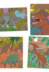 Djeco Scratch Art When Dinosaurs Reigned Activity Set