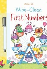 Usborne Wipe-Clean Numbers 1-20 3+