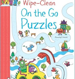 Usborne Wipe-Clean On the Go Puzzles ES