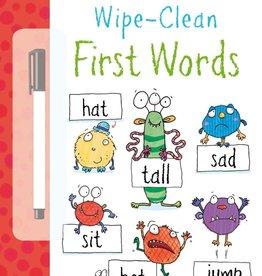 Usborne Wipe-Clean First Words 4+