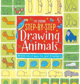 Usborne Step-by-Step Drawing Animals 4+