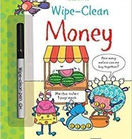 Usborne Wipe-Clean Money 4+