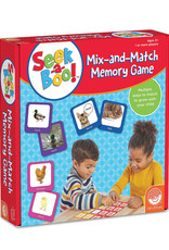 MindWare SEEK A BOO Mix & Match Memory Game 3+