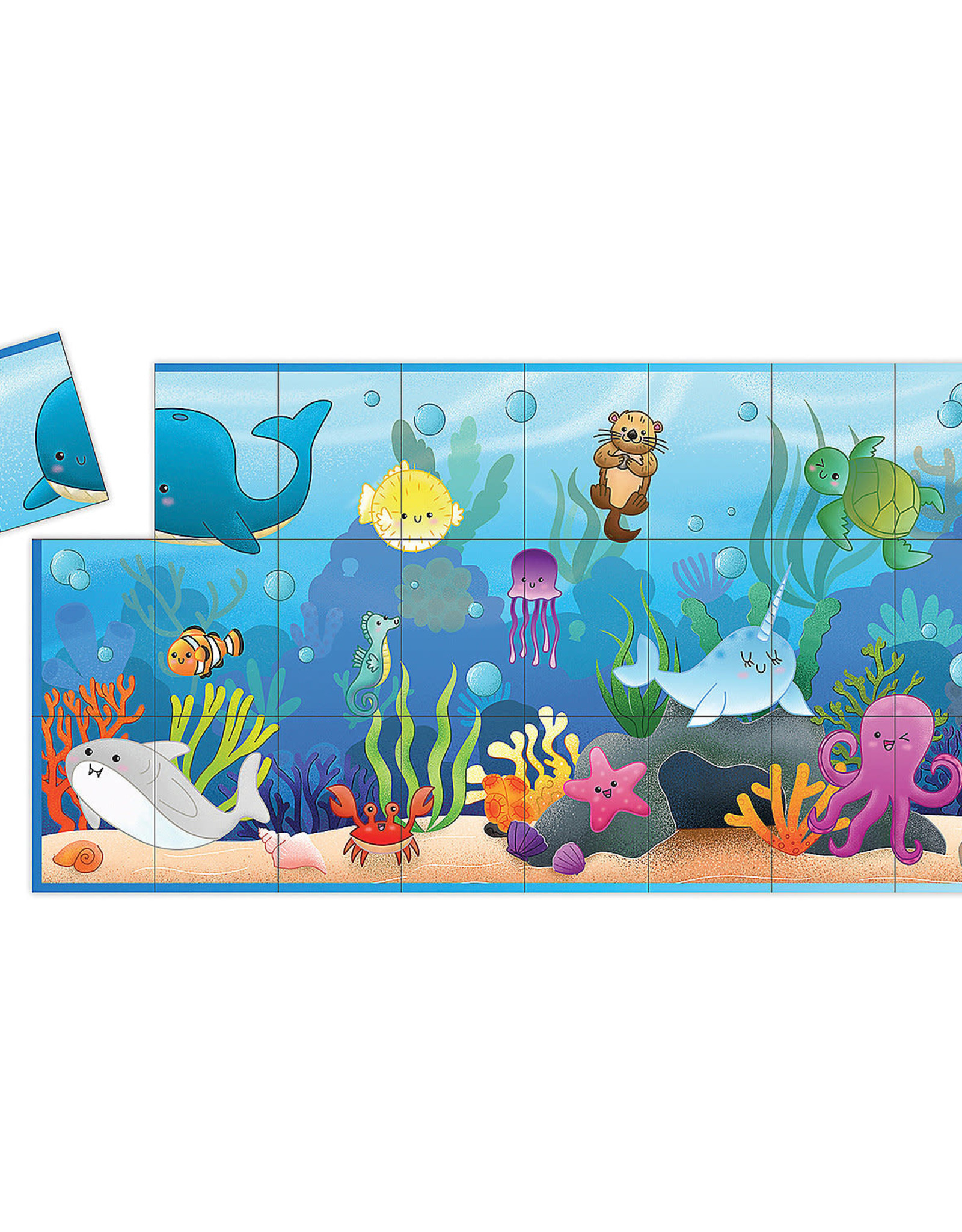 MindWare MATCH UP Game & Puzzle  OCEAN