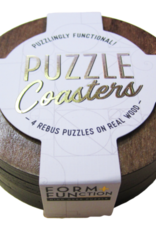 Form + FUNction Brainteaser Puzzle Coasters