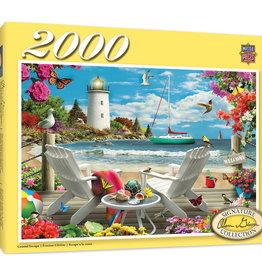 Master Pieces 2000pc Coastal Escape