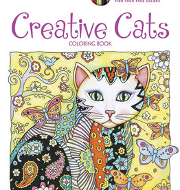 Dover Coloring Book CH Creative Cats