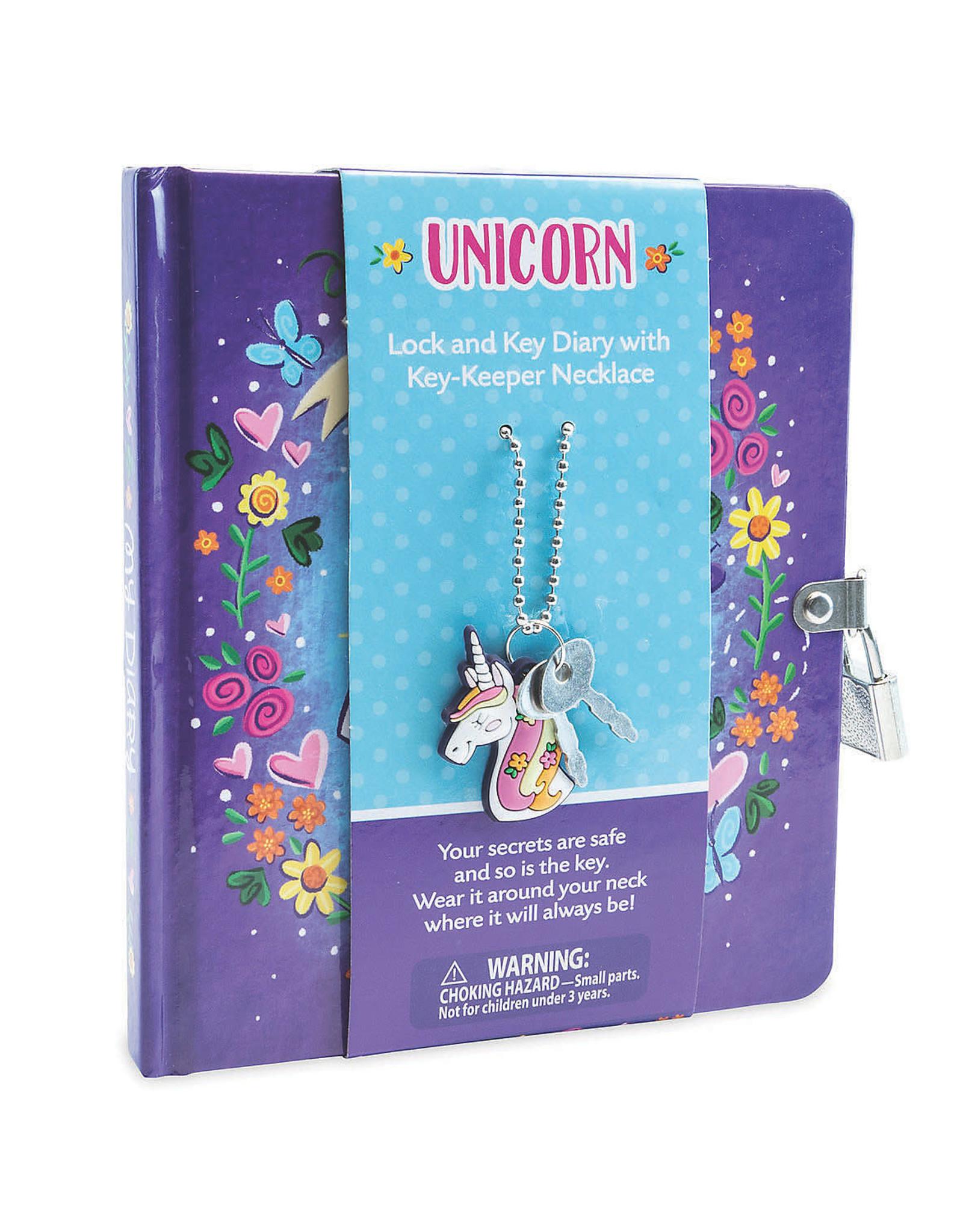 MindWare Diary: Key-Keeper: Unicorn Diary