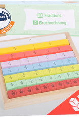 Small Foot Fractions Wooden Educate Toy