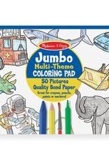 Melissa & Doug MD Coloring Pad-Blue