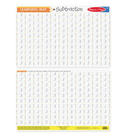 Melissa & Doug MD Learning Mat Subtraction