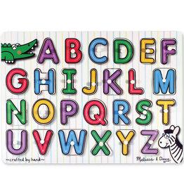 Melissa & Doug MD Peg Puzzle See Inside Alphabet