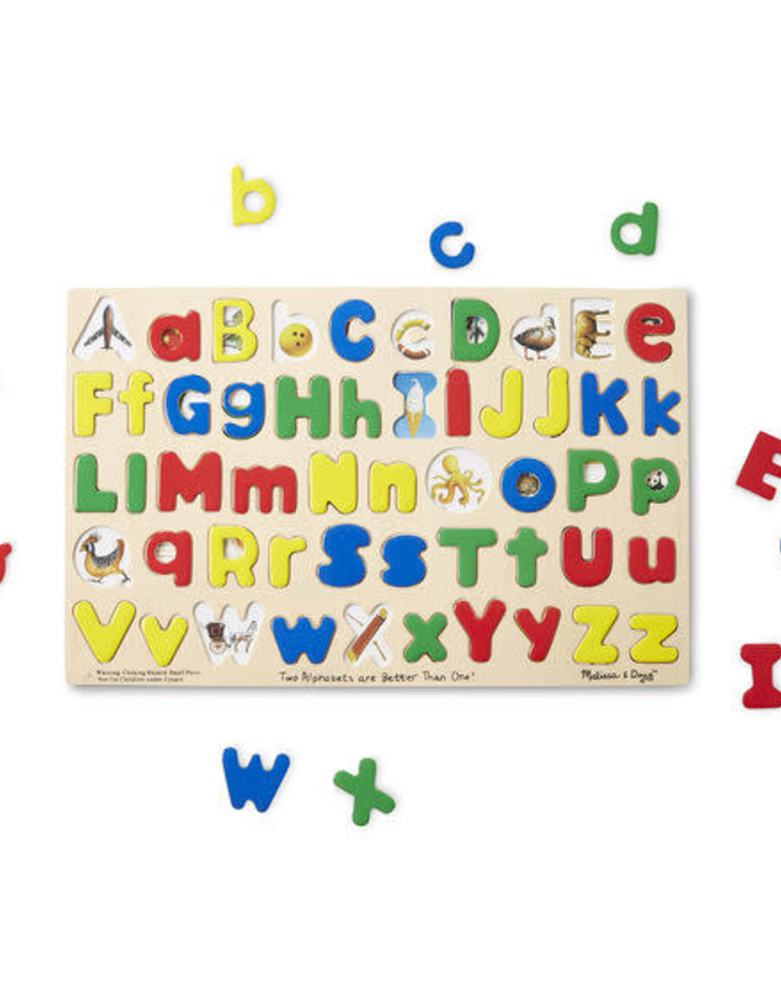 Melissa & Doug MD Wooden Puzzle Alphabet Upper & Lower Case