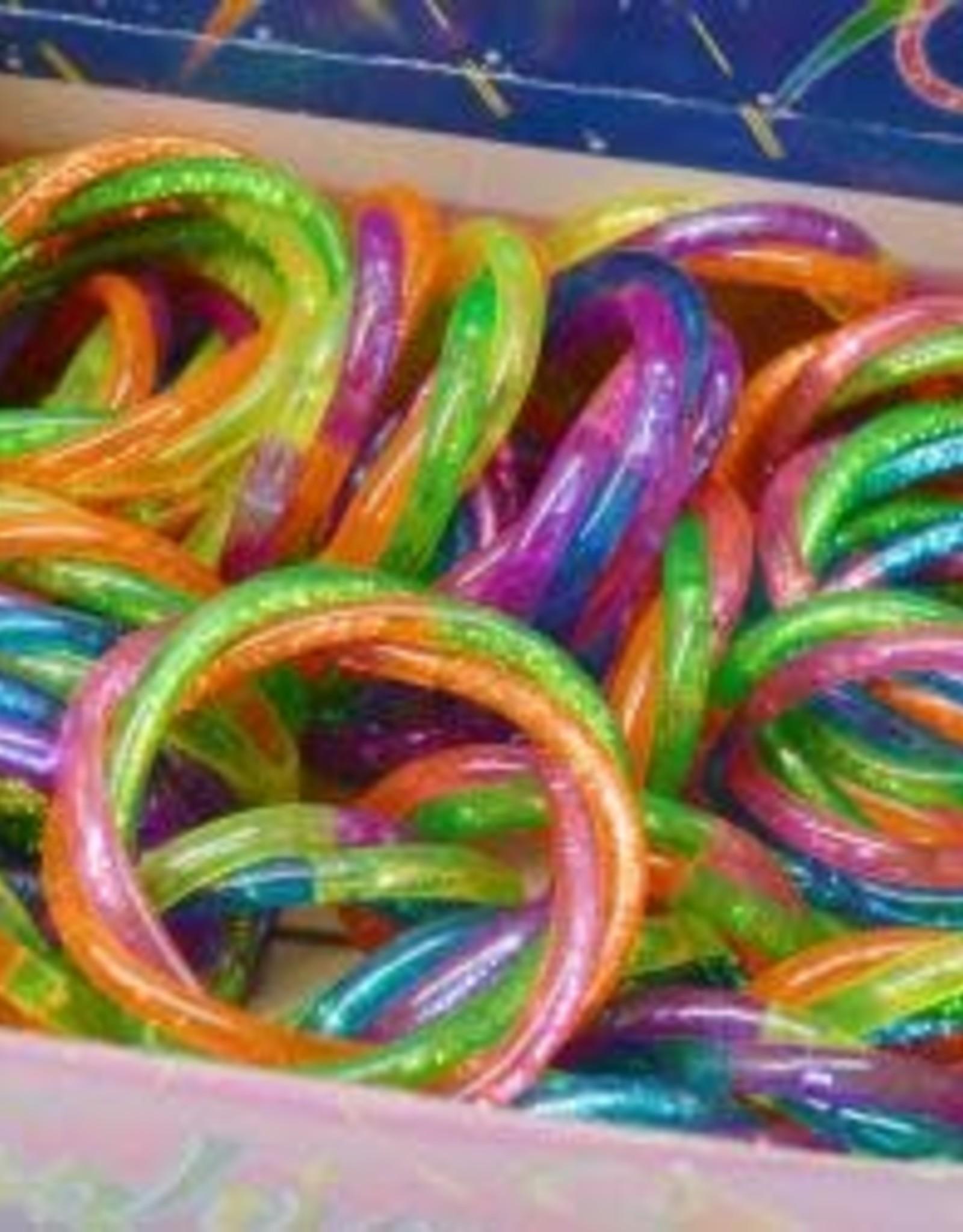 Hayes Specialties Bracelet Braided Glitter Water
