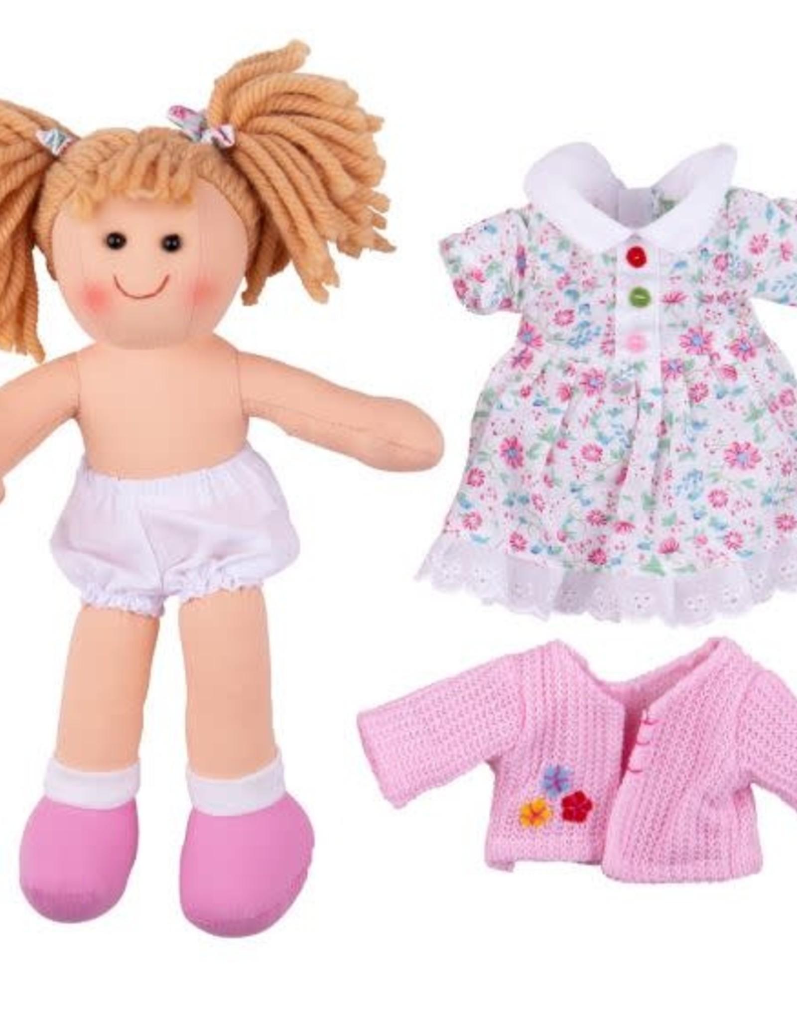 Bigjigs Toys Doll Poppy
