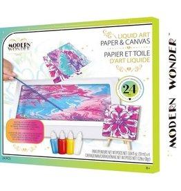 Modern Wonder Craft Kit Liquid Magic Paint Paper & Canvas