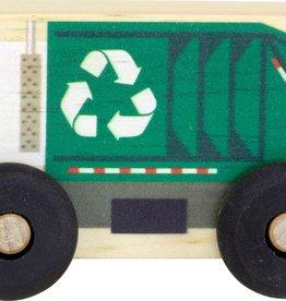 Maple Landmark Wooden Scoots Recycle Truck