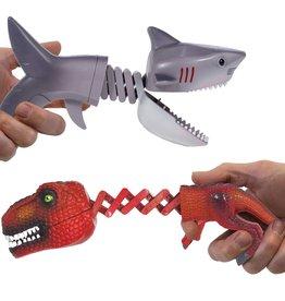 Schylling Shark vs Dino Chompers