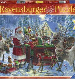 Ravensburger 1000pc Packing the Sleigh