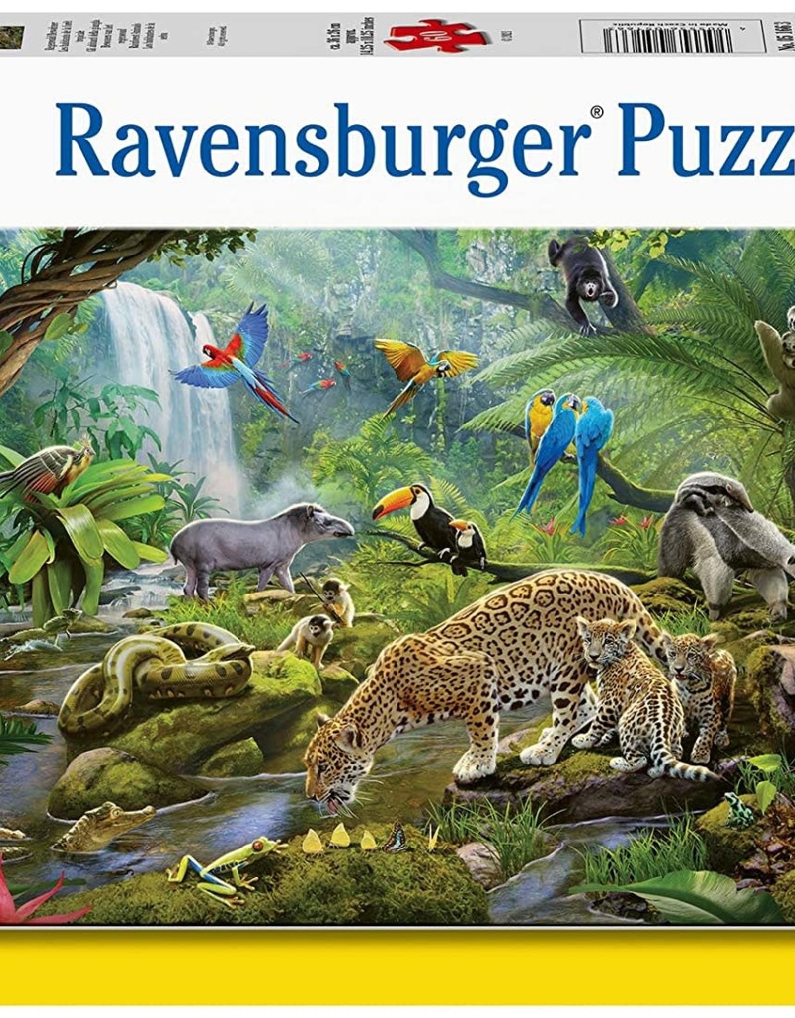 Ravensburger 60pc Rainforest Animals