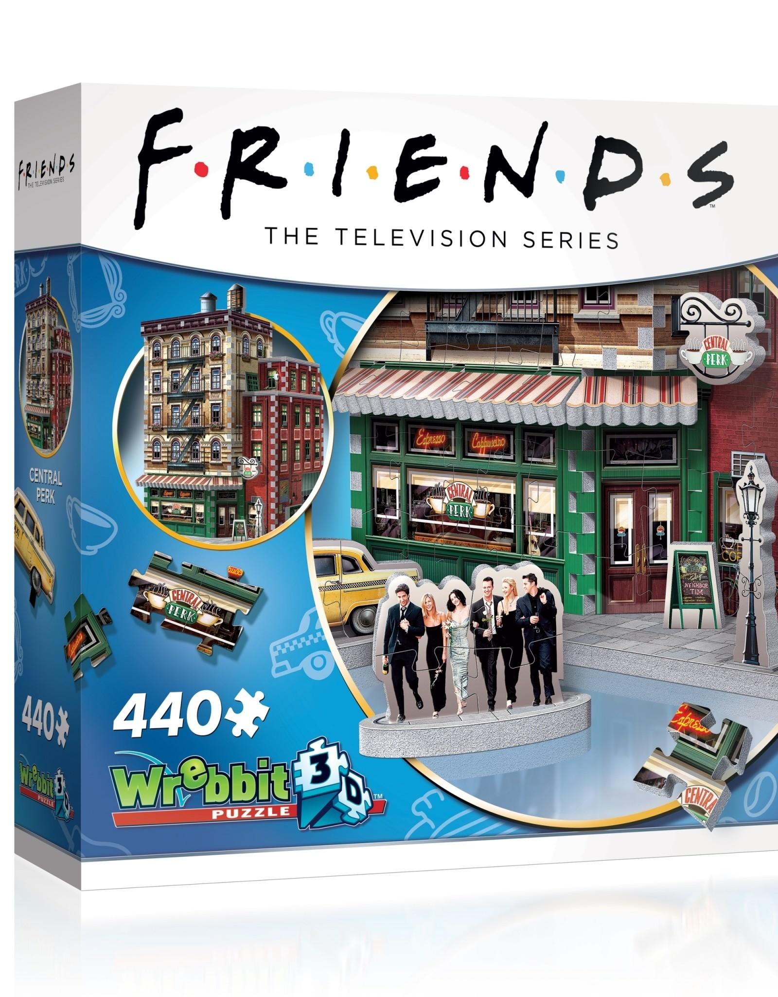 Wrebbit 440pc 3D Friends Central Perk
