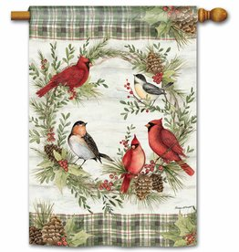 Studio M Winter Bird Wreath