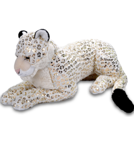 WILD Republic Snow Leopard Jumbo Foilkins White