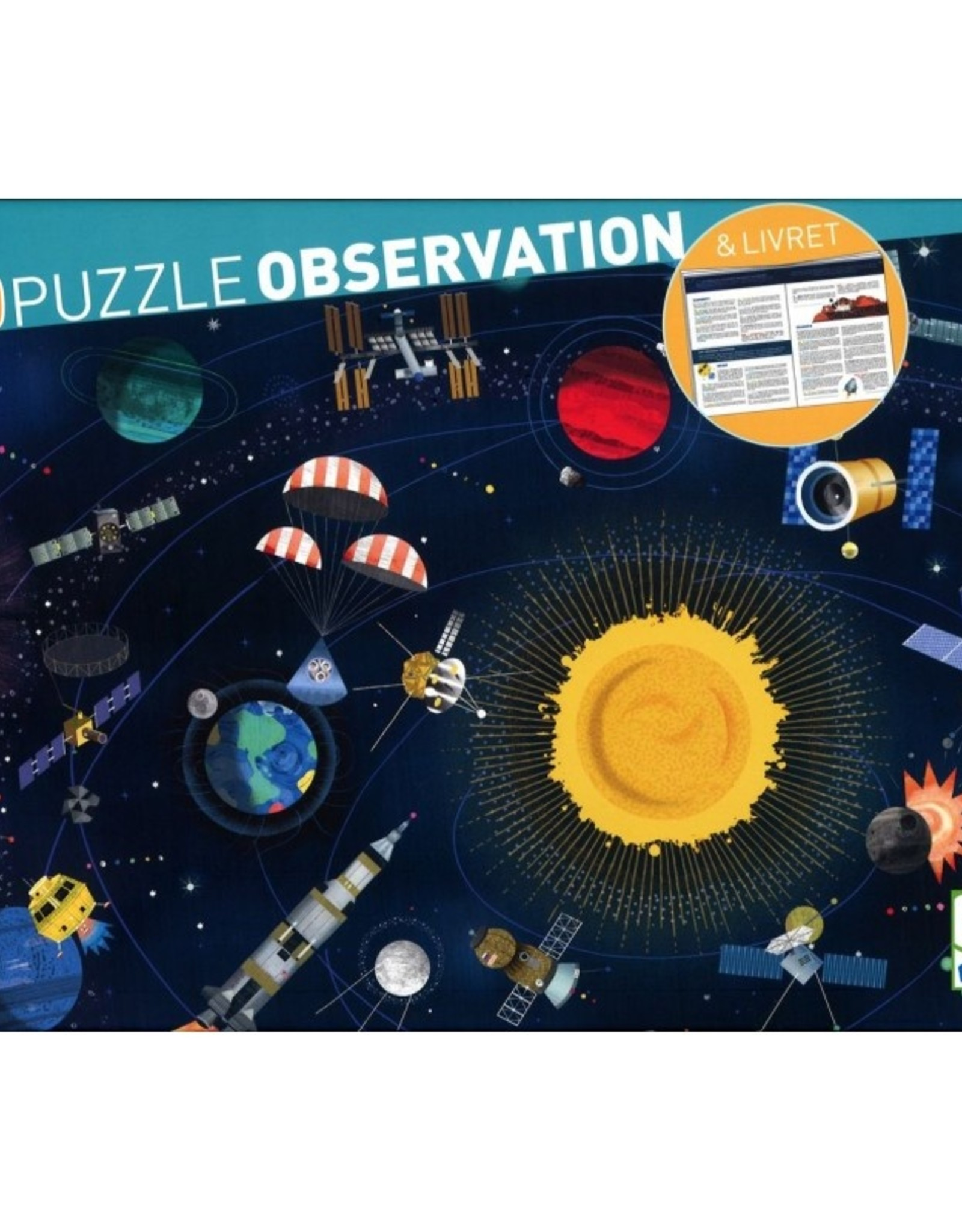 Djeco Djeco Observation Puzzle Space 200pc
