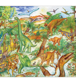 Djeco Djeco - Observation Puzzle Dinosaurs 100 Piece